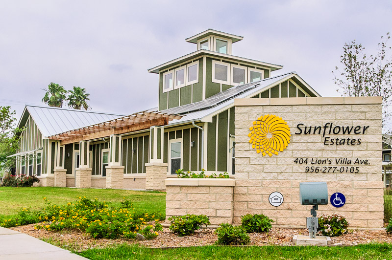 Sunflower Estates Page