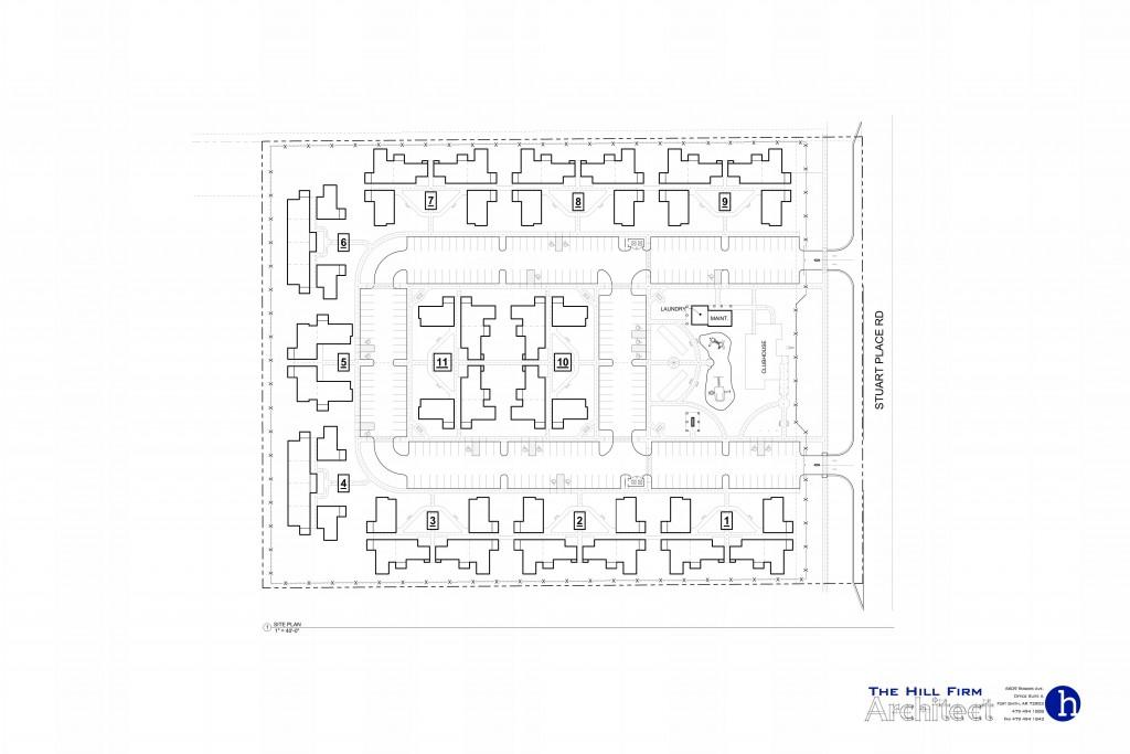 Sunquest Apartments_SITE PLAN (PRESENTATION)